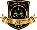 National Academy of Criminal Defence Attorneys Top 10