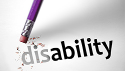 Disability while working
